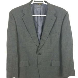 Brooks Brothers Grey (Glen Check) 2 Button 44R